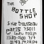 the-bottle-shop 5 rue Trousseau - 75011 Paris
